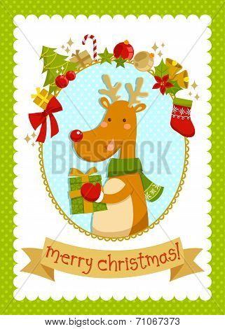 designed Charistmas card