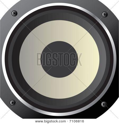 powerful loudspeaker