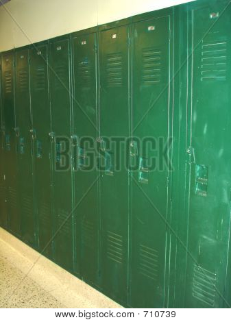 Lockers  Green