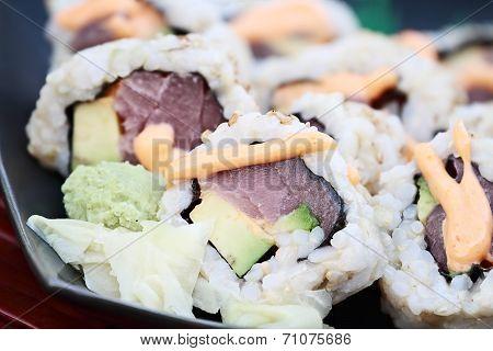 Fresh Tuna Sushi