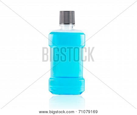 Blue Water Mouthwash Isolate