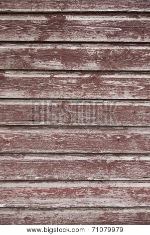 Background Consisting Of Weathered  Brown Boards
