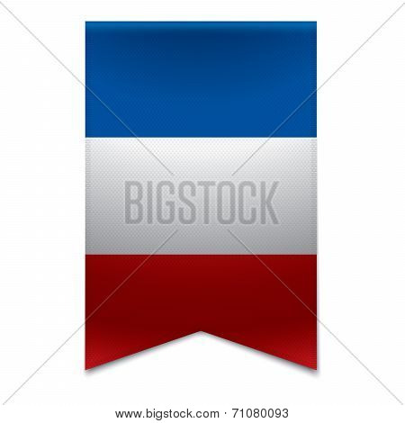 Ribbon Banner - French Flag