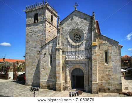 Gothic church in Caminha