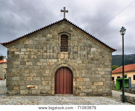 Old rural church of Linhares da Beira