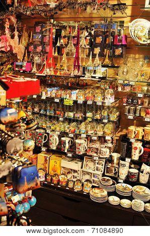 Parisian souvenir shop