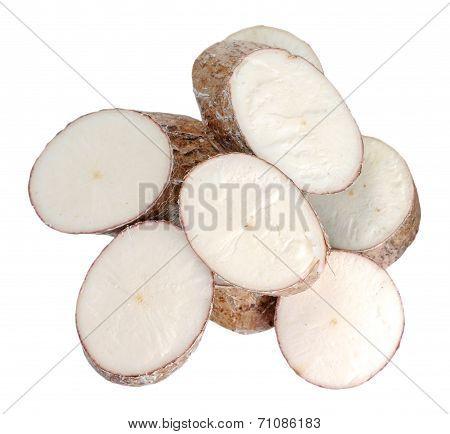 Chopped Cassava