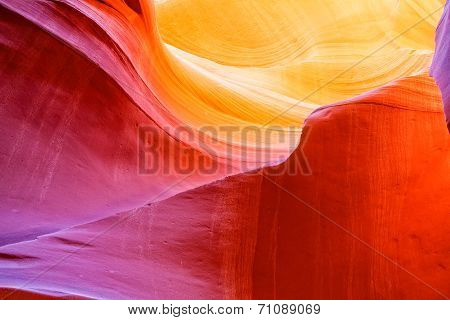 Scenic Antelope Canyon