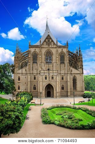 Cathedral of St. Barbara in Kutna Hora, Czech