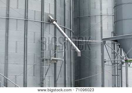 Detail Of Storage Grain Silo