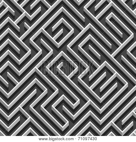 Labyrinth abstract background