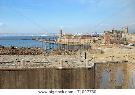 Southern France:  Landmarks In Marseille, Old Port