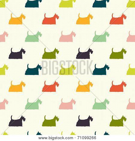 Dogs Pattern.
