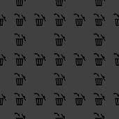pic of dust-bin  - Trash bin web icon - JPG