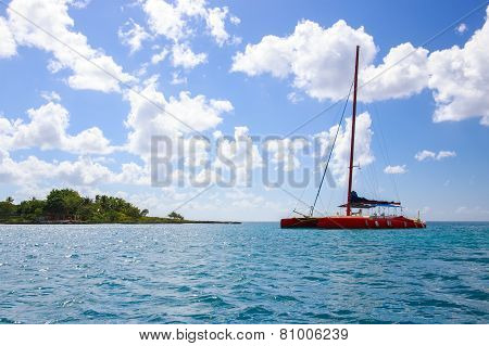 Caribbean Sea Scenery