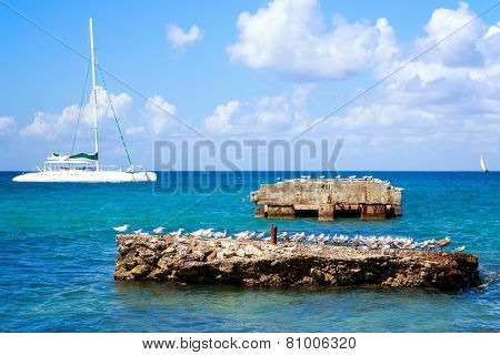Caribbean Sea Scenery