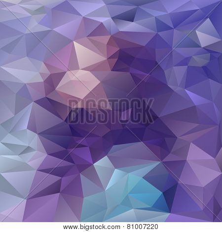 Vector Polygonal BackgroundPattern - Triangular Design Amethyst Colors