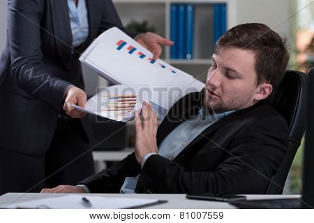 Overworked Employee Refusing Work