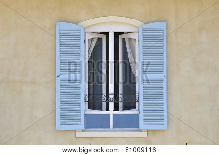 Window With Louvre Doors