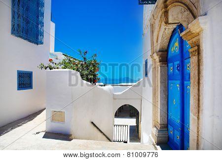 Sidi Bou Said. La Gulett, Tunisia