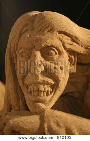 Sand Man - Close up