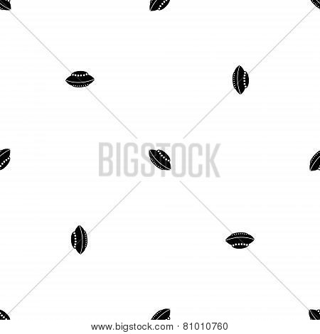 Seamless wrapping wallpaper with UFO