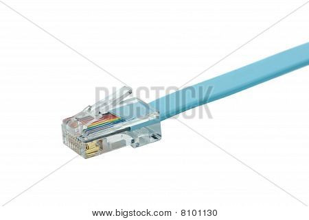 Blue Patchkord With Rj45 Connector