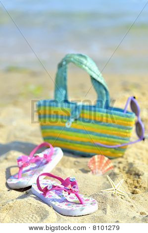 Children's beach accessories