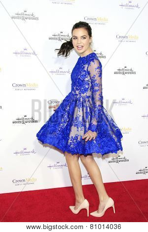 LOS ANGELES - JAN 8: Bailee Madison at the TCA Winter 2015 Event For Hallmark Channel and Hallmark Movies & Mysteries at Tournament House on January 8, 2015 in Pasadena, CA