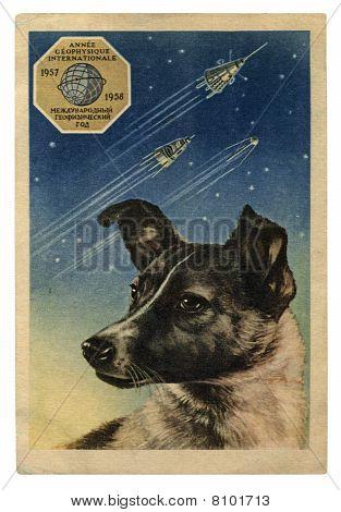 USSR - CIRCA 1958: International Geophysical Year