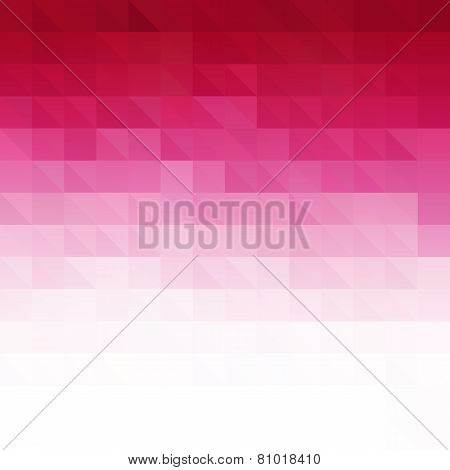 Abstract pink geometric technology background
