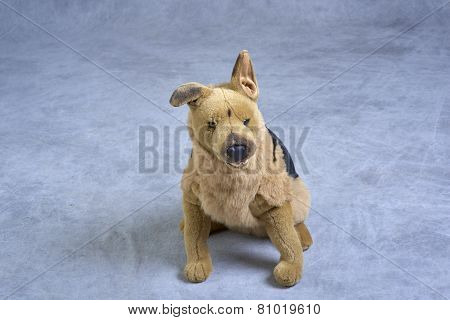 Stuffed dog