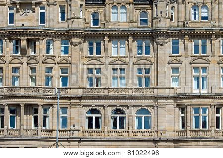 Detail of a victorian building