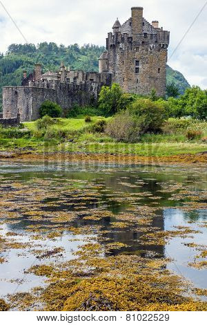 The Eilean Donan castle in Scotland