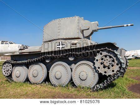 Light Tank Pzkpfw 38 (t)