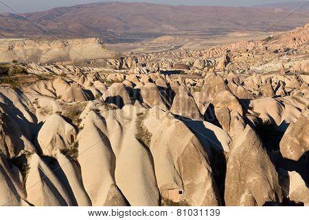 Cappadocia, Turkey. volcanic rock landscape