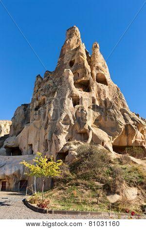 Cappadocia, Rock formations in Goreme National Park, Turkey