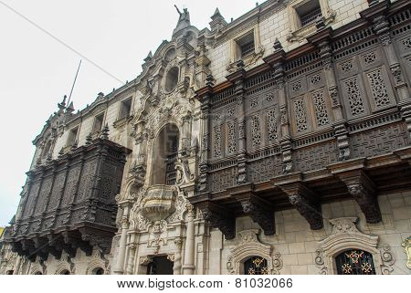 Archbishop's Palace - Lima, Peru