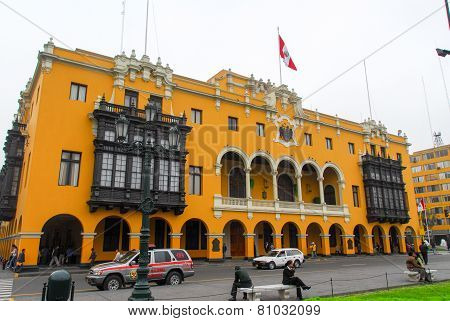 Municipal Building - Lima, Peru