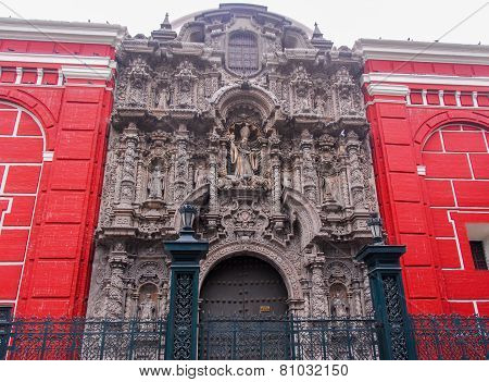 San Agustin Church - Lima, Peru