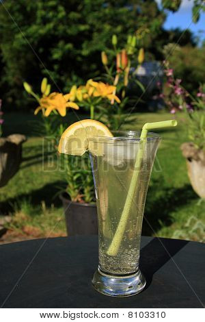 Long cool summer drink