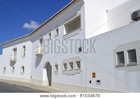 House in the village of Armacao De Pera in Portugal