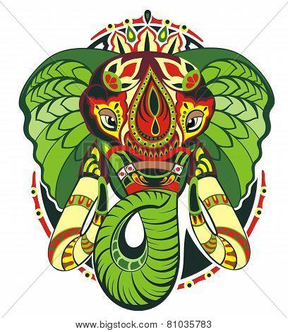 Totem animal.Elephant