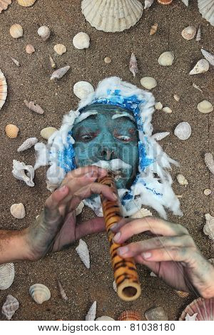 Blue Sea Man Fifer