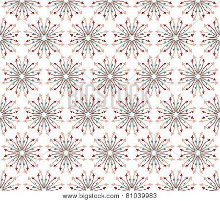 Fabric Arrows Flowers