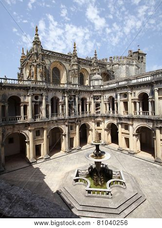 Templar Castle In Tomar. Portugal