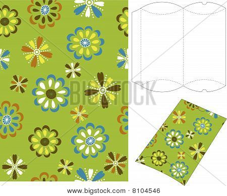 3d Gift Box Folding Template