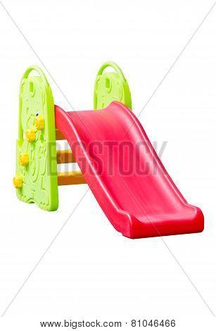 Children's Slider Isolated On White.