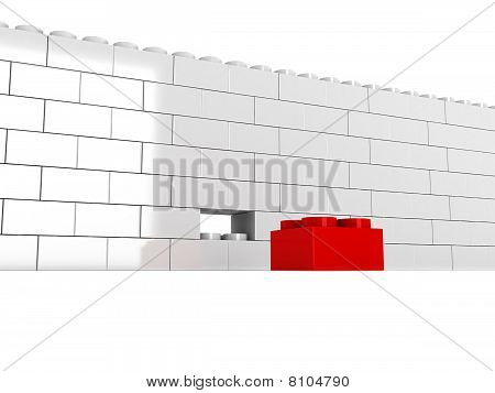 Wall Without Block