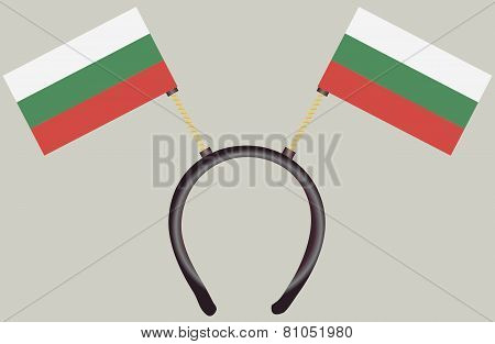 Witty Headdress Flags Bulgaria
